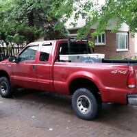2003 Ford F-250 Pickup Truck quickmount 7' plow