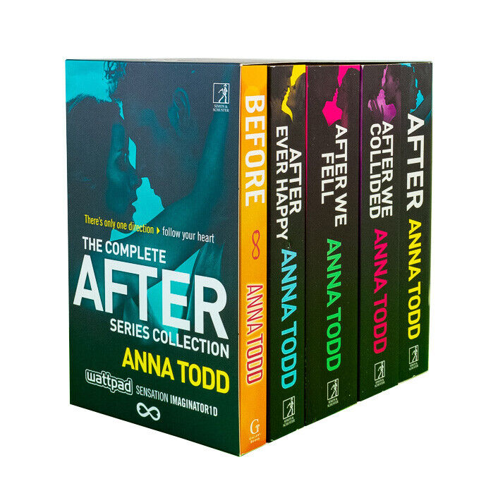 Anna Todd After Series 5 Books Young Adult Collection Paperback By Anna Todd
