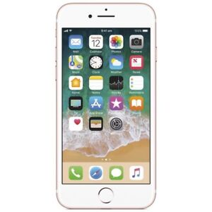 iPhone 7 : like new 32 gb rose gold