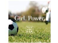 Beginners women's football Wednesdays