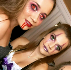 Mobile Halloween Hair & Makeup apps available