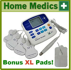 XFT-320A-TENS-MACHINE-MASSAGER-NEXT-DAY-DELIVERY-8-PADS-ACUPUN-PEN