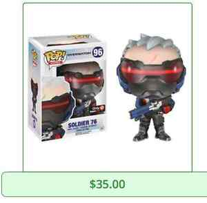 Looking for Suicide Squad, Overwatch Funko Pop!