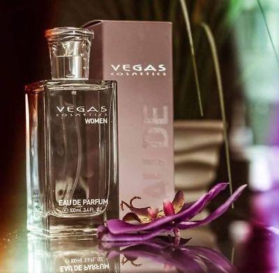 Edp Spray Tester (EDP 100ml or 5ml tester Spray Eau de Parfum Woman by VEGAS original perfume)