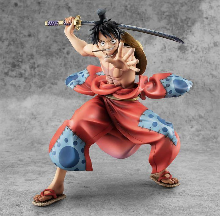 MegaHouse Portrait of Pirates Warriors Alliance One Piece Luffy Taro Figure New