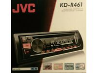 JVC Sterio with Cd ,usb player also redio.