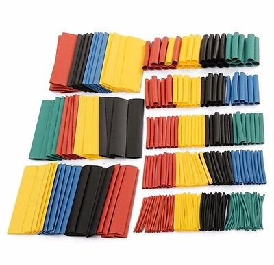 328pcs 21 Polyolefin Heat Shrink Tube Assort Set Wire Insulated Sleeve Tube 8 S