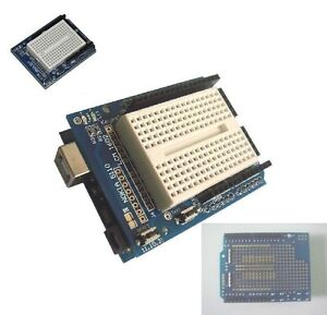 Arduino-Prototyping-Prototype-Shield-ProtoShield-With-Mini-Breadboard-NEW