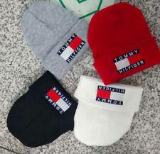 Unisex Men's Women's Warm Beanie Hat Embroidery Knit Night Cap Sleep Hip-Hop Hat