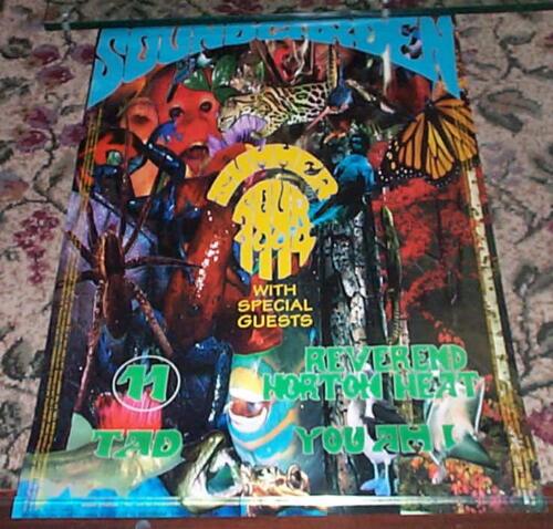 SOUNDGARDEN Vintage 1994 TOUR  Poster TAD Rev Horton Heat