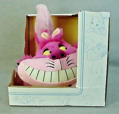 Talking CHESHIRE CAT Plush from Alice in Wonderland Disney - NWT - NEW
