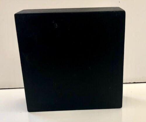 "SPACE SHUTTLE  BURAN 2.01 HEAT SHIELD THERMAL BLACK TILE 6"" x 6 x 2"""