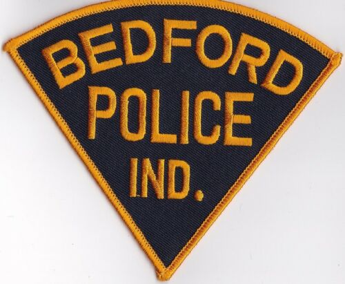Bedford IN Indiana Police Patch