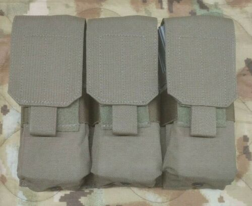 Ranger Green MOLLE Double Stack Triple Mag Pouch 5.56 Eagle Industries USGI NOS