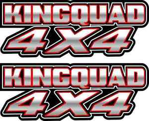King-Quad-4x4-white-Gas-Tank-Graphics-Decal-Sticker-Atv-Kingquad-750-300-plastic