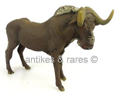 altes Lineol Tier: Gnu, wohl 30er Jahre (linol096)