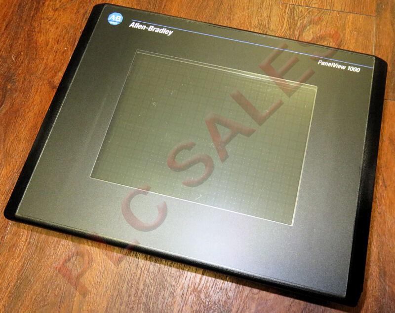 Allen Bradley 2711-T10C16L1 /D     PanelView 1000 DF1 24vdc FRN 4.20