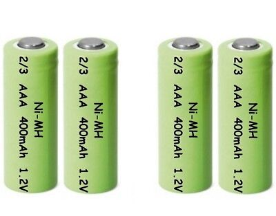 4 Stück AKKU für HAGENUK CLASSICO 400mAh  1,2V  NI-MH Accu  2/3AAA Batterie Neu 1 3 Aaa-batterie