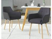 dCor Design dining table and chairs
