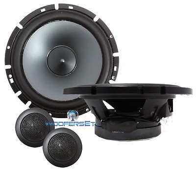 Sps-610c Alpine 6.5 Type-s 2-way Car Component Speakers Mids Silk Tweeters