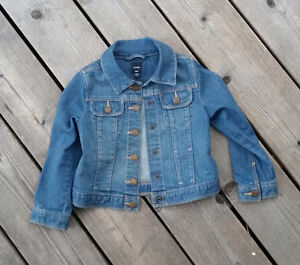 Manteau coat jeans Gap