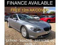 2004 BMW 6 Series 4.4 645Ci Coupe 2dr Petrol Automatic (264 g/km, 333 bhp)