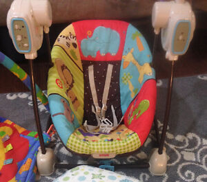 Fisher Price Swing + Multiple Other baby items for sale