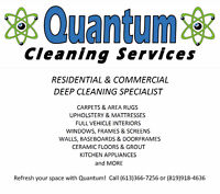 Quantum Cleaning -- Carpets_Upholstery_Vehicle Detailing & More