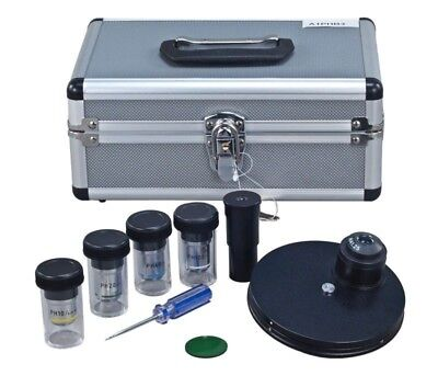 Disc Phase Contrast Kit W Bf Condenser For Microscopes