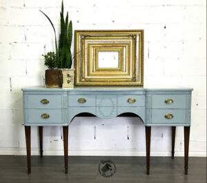 Antique Sideboard Server