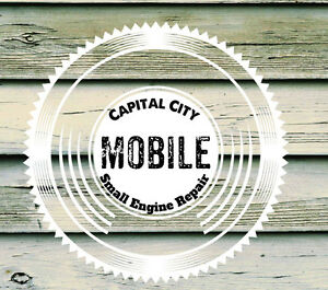 Free,no cost inspection! Capital City Mobile Small Engine Repair