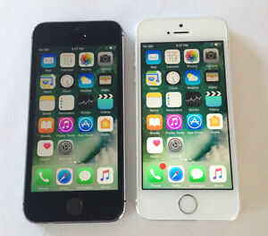 Two Apple iPhone 5S 16GB Bell Virgin NEW 10/10 Condition $225
