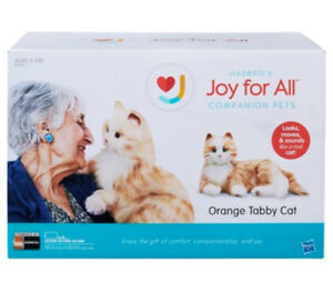 Hasbro's Joy For All Orange Tabby Cat
