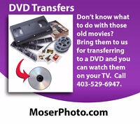 DVD Transfers From Old Movies