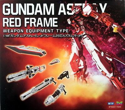 BTF Sword Weapon Equipment for Bandai RG 1/144 MBF-P02 Gundam Astray Red