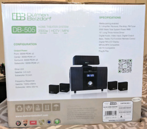 BRAND NEW PREMIUM surround sound home theater system