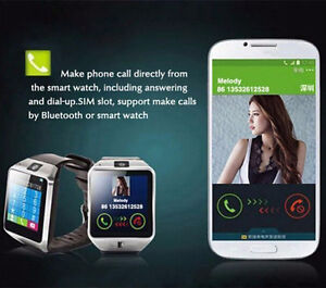 Bluetooth Android Smart Watch/Facebook/Whatsapp/Simcard/Camera London Ontario image 10