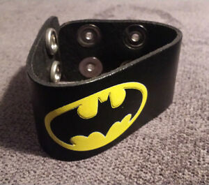 Batman Leather Cuff