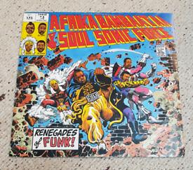 Afrika Bambaataa & Soul Sonic Force - Renegades of Funk 12in.