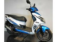 2012 62 SYM AD12W JET 4 125 BLUE SCOOTER PROJECT/TRADE SALE/DAMAGED REPAIRABLE