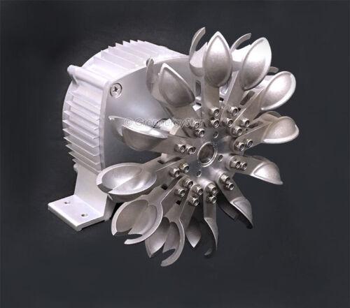 Water Wheel GreenergyStar12V WindZilla Permanent Magnet Generator