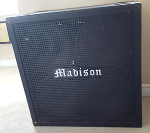 Madison 4x12 Cabinet (Made in USA)