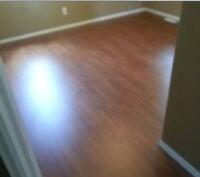 Professional floor installer