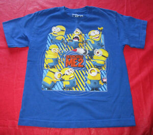 5x Boys licensed t-shirts in size Medium (10/12) Kingston Kingston Area image 5