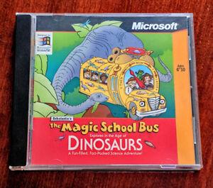 Scholastic's The Magic School Bus Dinosaurs,  PC Win95/NT Game