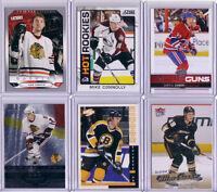 10 Cartes hockey Recrue (Baertschi, Seabrook, Thornton etc..)