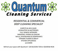 Quantum - Carpet Cleaning Sale - 3 ROOMS FOR ONLY $99!
