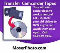 Transfer Your Old Camcorder Tapes To DVD