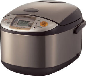 Rice Cooker and Warmer, 10 cups, Uncooked Zojirushi NS-TSC18