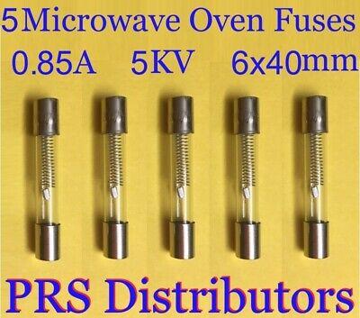 2x HV fuse 5kV 700mA Fuse For Microwave Oven 6 x 40mm 0,7A 5000V